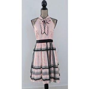 Anthropologie Maeve Star Turn Archival Retro Dress